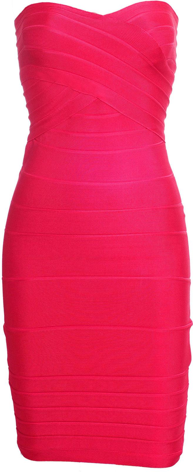 Pink Strapless Dresses