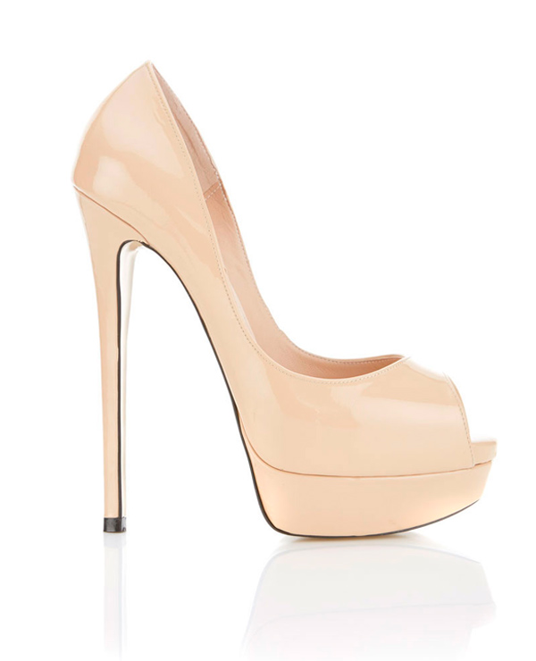 pumps peep toe
