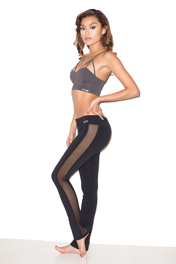 Mesh Workout Leggings Photo Album - Reikian