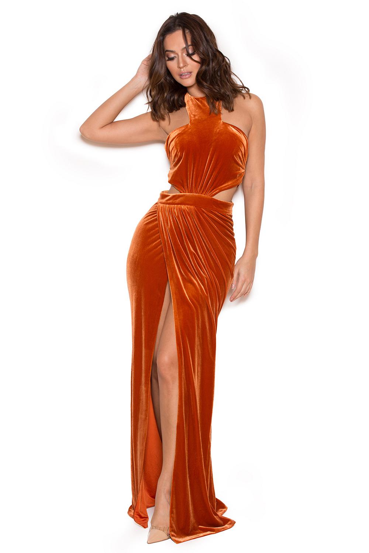 Burnt Orange Gowns | Dress images