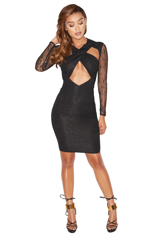 Vampire peek a boob dress