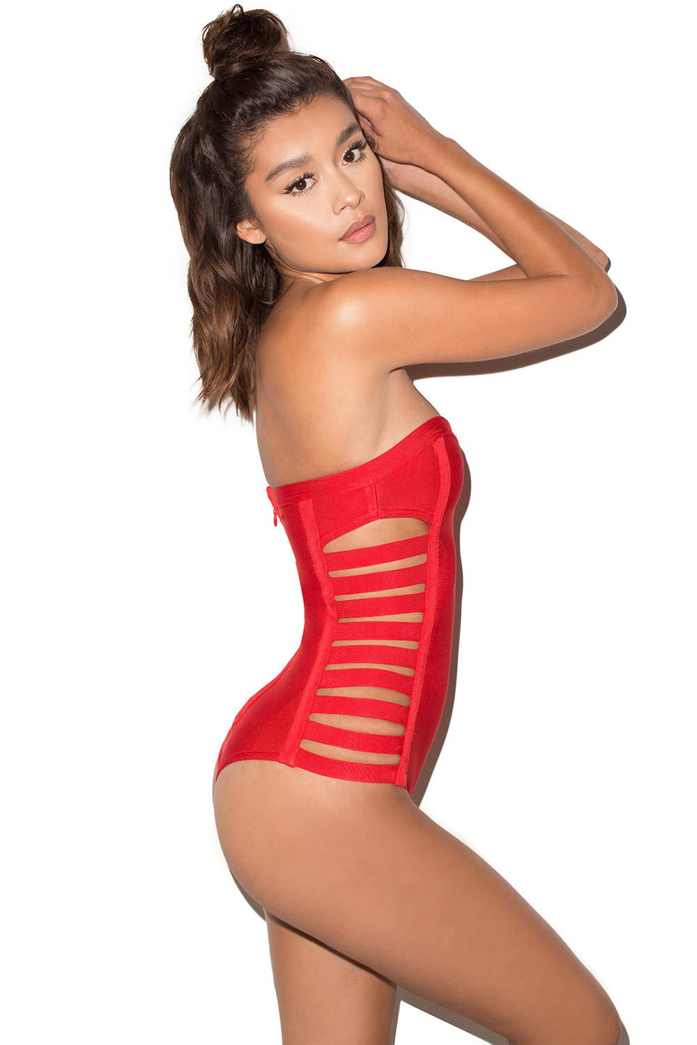 Find great deals on eBay for red strapless top swimsuit. Shop with confidence.