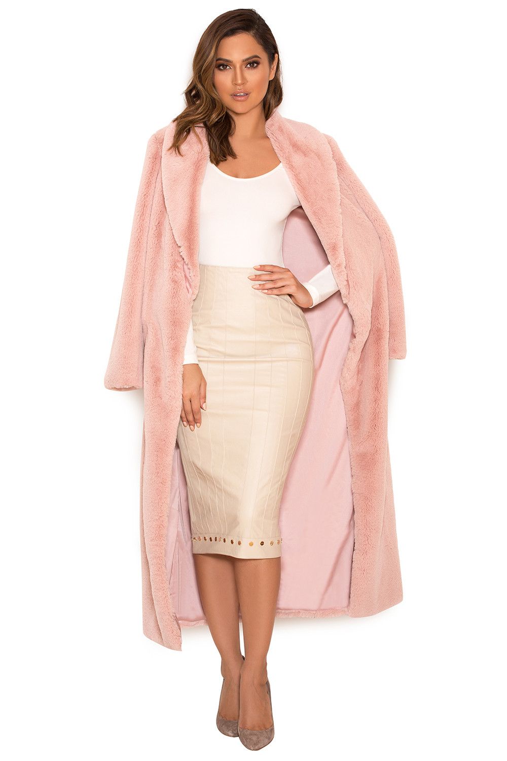 Blush Pink Coat Fashion Women S Coat 2017