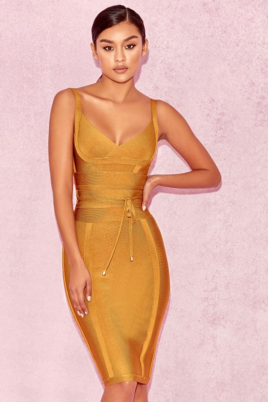 clothing bandage dresses 39 belice 39 ginger tie waist bandage dress. Black Bedroom Furniture Sets. Home Design Ideas