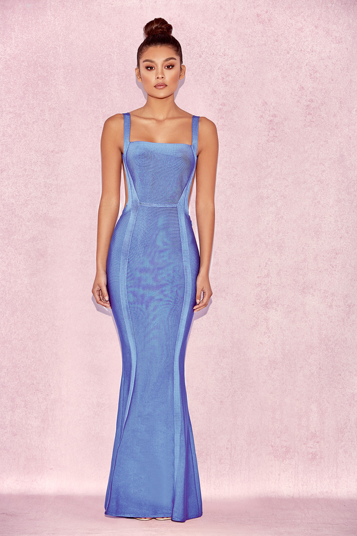 clothing max dresses 39 ophelia 39 cornflower blue. Black Bedroom Furniture Sets. Home Design Ideas