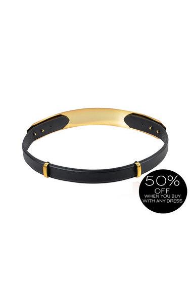 Signature Gold Metal Waist Belt