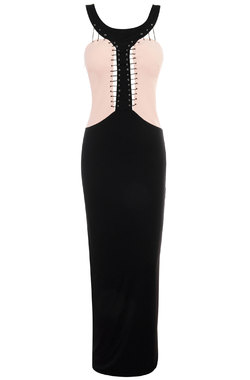 Reece Pink & Black Maxi Dress