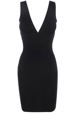 Jenna Black Bandage Dress