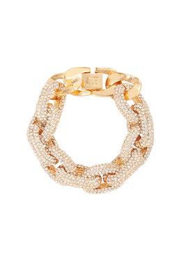 Wayfarer Crystal Oversized Link Bracelet