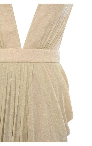 nude blanca maxi dress