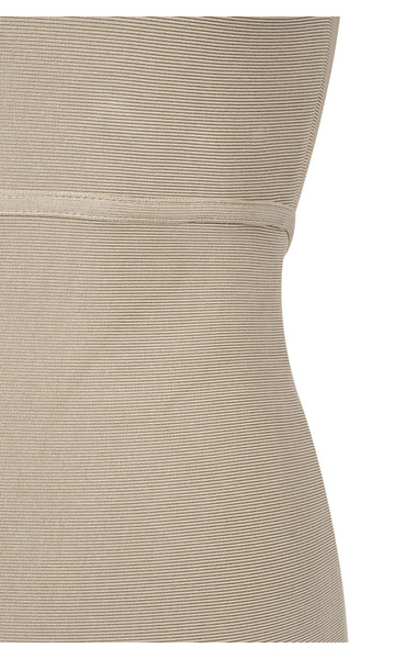 the pascale dress in taupe