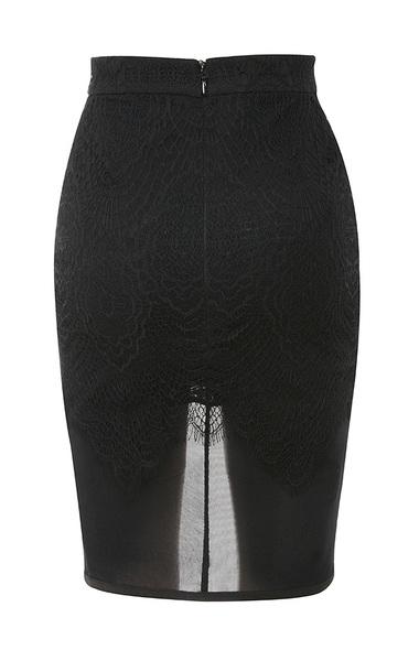 black viviana skirt