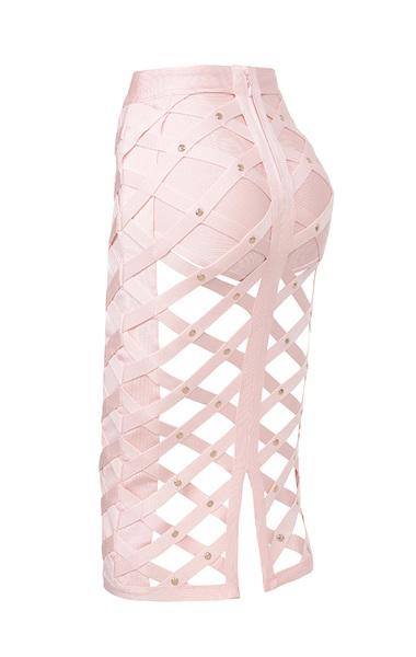 izumi skirt in pink
