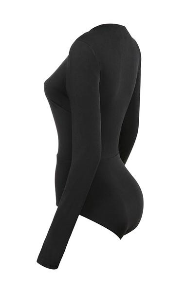 lorenza bodysuit in black