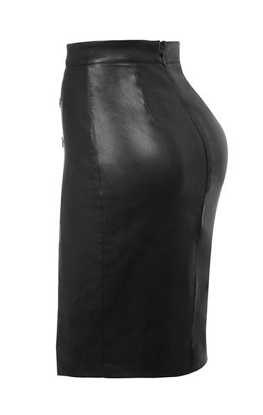maja skirt in charcoal