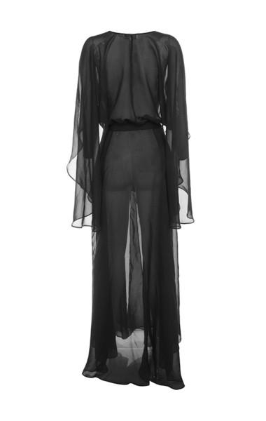 mariea dress in black
