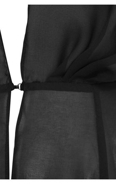 black mariea dress