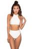 Maryska White Bandage Halter Bikini
