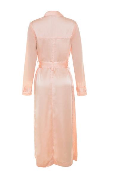 coryn coat in blush
