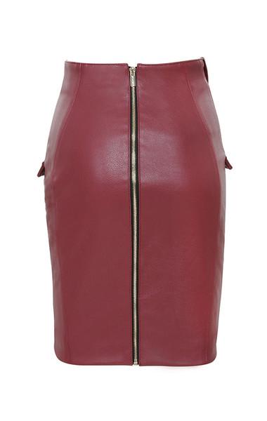 siyanna skirt in red
