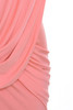 coral febe dress