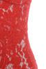 red odelia dress
