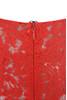 odelia red dress