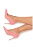 "PARIS Flamingo Patent Leather Pointy Toe Heels 4"""