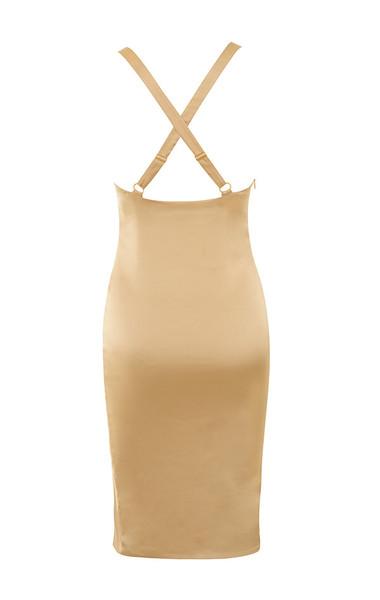 essie dress in nude