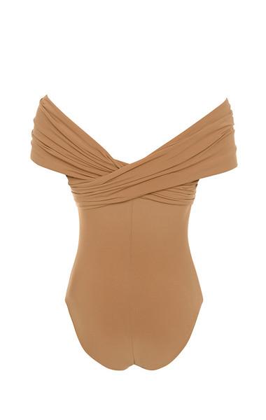 marle bodysuit in tan
