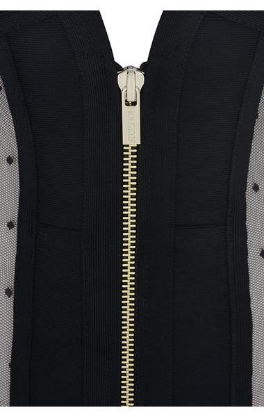 black margeaux dress
