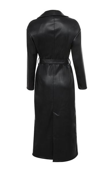 meja coat in black