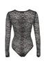 carmine bodysuit in black