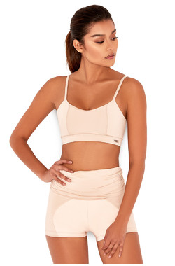 Mantra Nude & Blush Workout Shorts