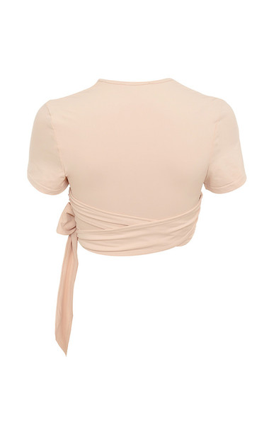 tranquil top in nude