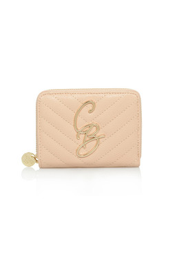 CB Peach Mini Quilted Purse