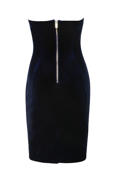 careda dress in navy