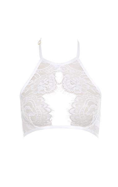 white milicent bra