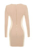felicity dress in nude