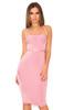 Tobie Lilac Knee Length Bandage Dress