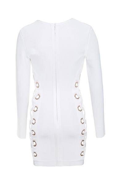 darcia dress in white