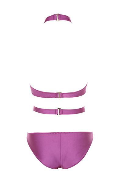 paros swimwear in magenta