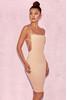 Carenza Nude Bib Dress