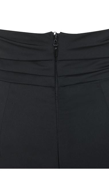 black aceta trousers