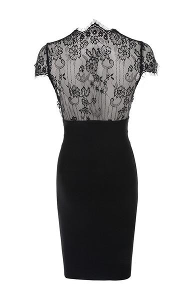 gaia dress in black