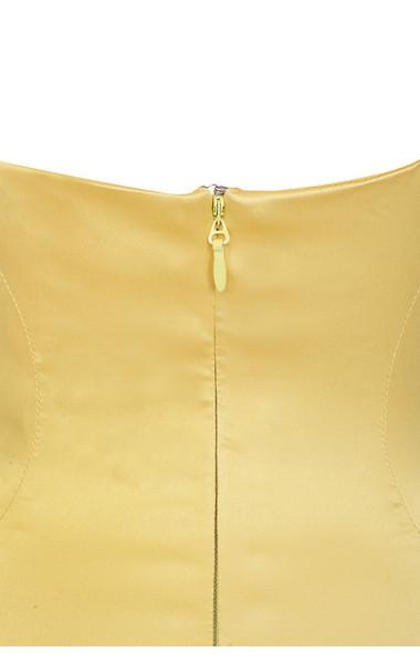 selena yellow dress