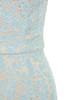 blue edeta dress