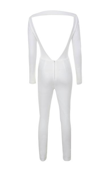 apsara jumpsuit in white