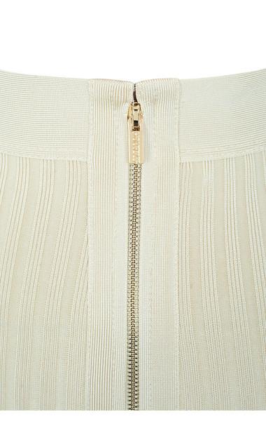 off white dray skirt