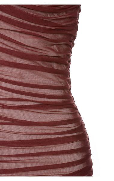 red fifi dress